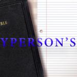 Laypersons I Bible School